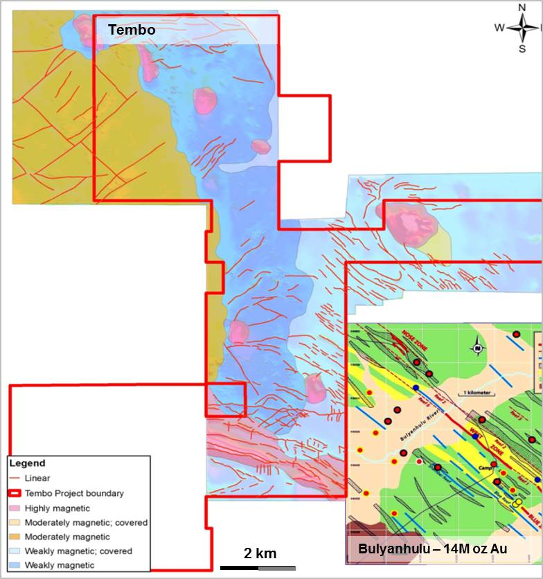 Tembo Exclusive Exploration Licence